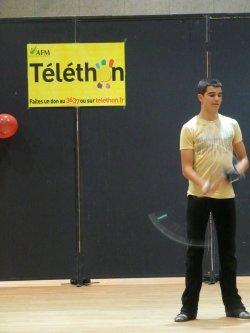 Le club en démonstration-initiation au TELETHON 2011