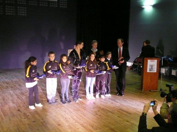 Nos athlètes récompensés aux OSCARS sportif 2011