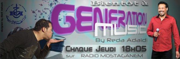 Madjid Hadj Brahim bientôt sur Génération Musique