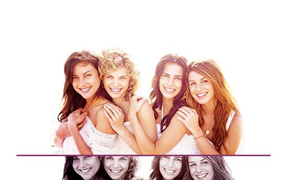 Silver, Naomi, Adrianna, Annie.