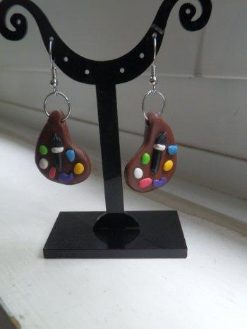 créations boucles d'oreilles gourmandes