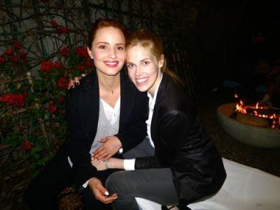 Le premier mai, Dianna été presente à l'anniversaire de Derek Blasberg. Coté tenue j'adore sa blouse et sa veste !!