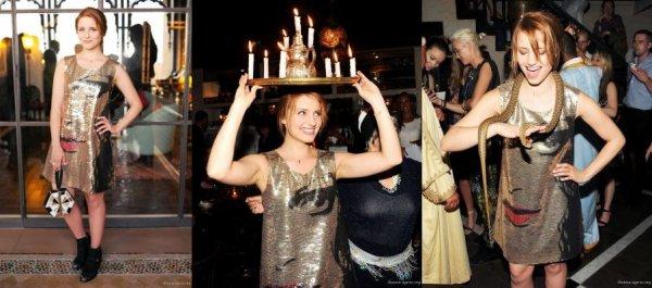 """Dianna est allée au Maroc, en compagnie d'Ashley Avignone et d'Olivia Wilde. Pour célébrer le relancement de """" A Small World"""" qui est un site. Ce voyage a été sponsorisé par Kittitian Hill resort & Diane von Furstenberg. Vous pourrez trouver dans cet article plusieurs photos du voyage ainsi que mon avis sur ses tenues. Vous êtes donc bien entendu invité a me donner le votre :p"""