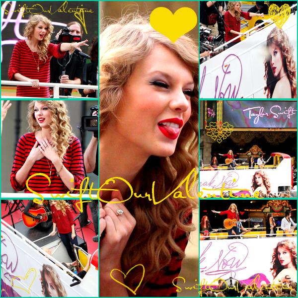 Taylor à la Radio (Sirius sx) &&' d'autres photos du concert sur Hollywood Boulevard !