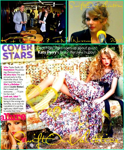Son arrivée dans les studios Dancing With the Stars le 3 Novembre, Passage à la radio et dans le magazine Allure et photos lors de son retour à L.A. !