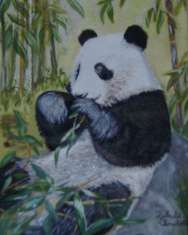 panda n°2 taille 24x30