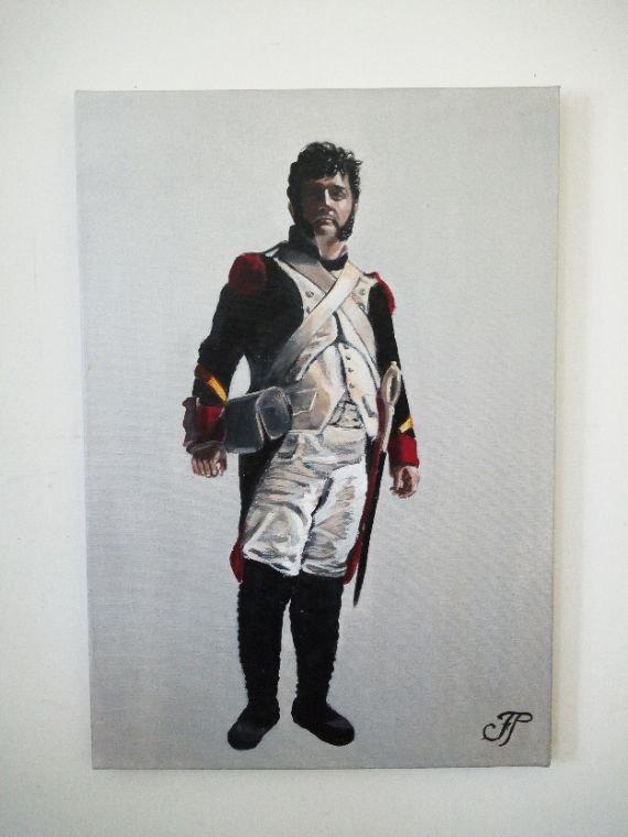 Portrait jeune acteur théâtrale Charly Fournier