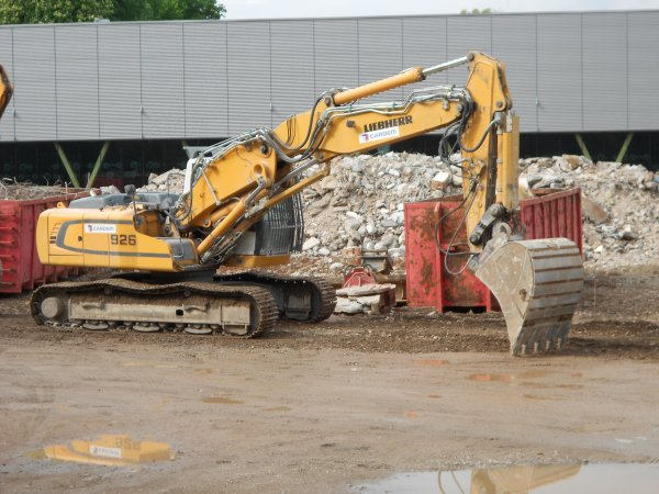 4736. pelle sur chenille LIEBHERR R926 ADVANCED DEMOLITION