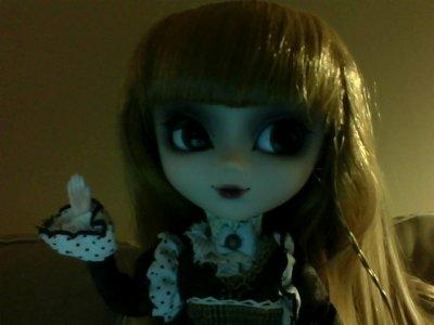 Photo de Evangélyne prise avec une webcam XD