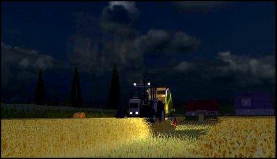 Pressage du blé 2011