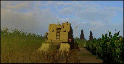 Moisson de maïs 2011 - 2° parcelles