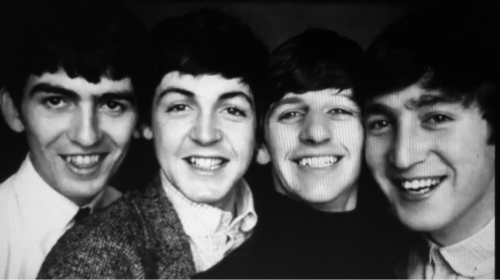 Smiling Beatles