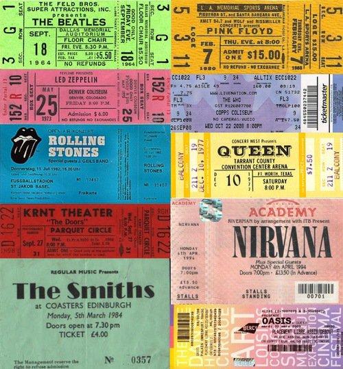 J'aurais tué pour aller à l'un de ces concerts...
