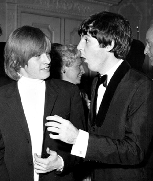 Paul McCartney & Brian Jones ♥
