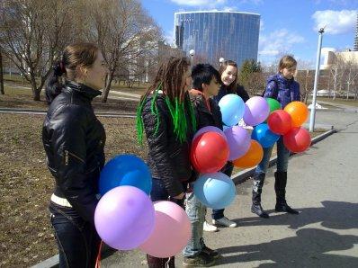 Worldwide Tokio Hotel day in Yekaterinburg. Photos. Part 1