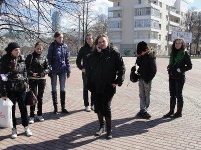 Worldwide Tokio Hotel day in Yekaterinburg. Photos. Part 2