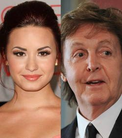 Demi Lovato : Elle a failli écraser Paul McCartney