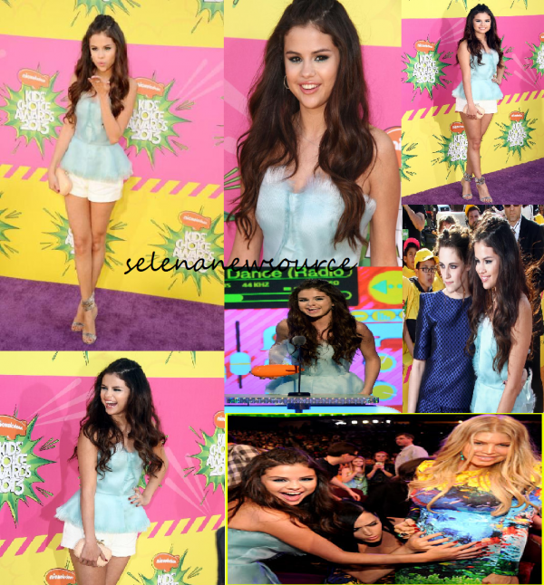 selena gomez au kids choice awards 2013