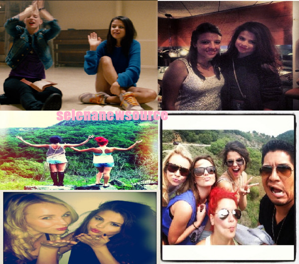 selena avec des amies en californie +video de come and get it et photo