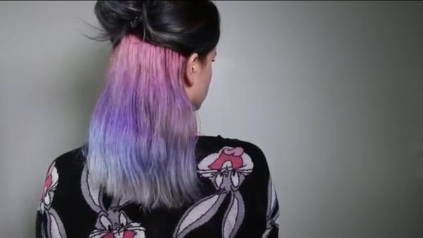 Photo de mon Underlights Hair Pastel ❤❤❤