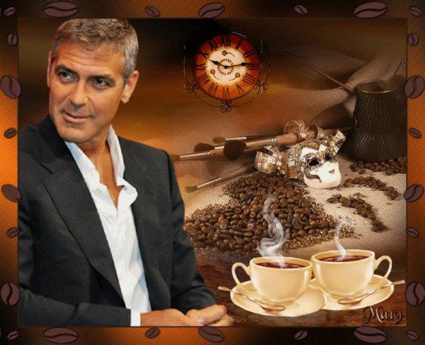 Bonjour et bonne journée amour de ma vie et mes amis(es) Sa vous dit un petit café du matin ........