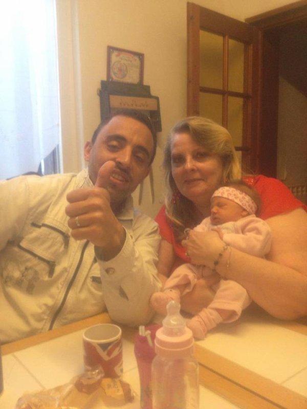Mon Loulou et moi et notre petite fille Adison