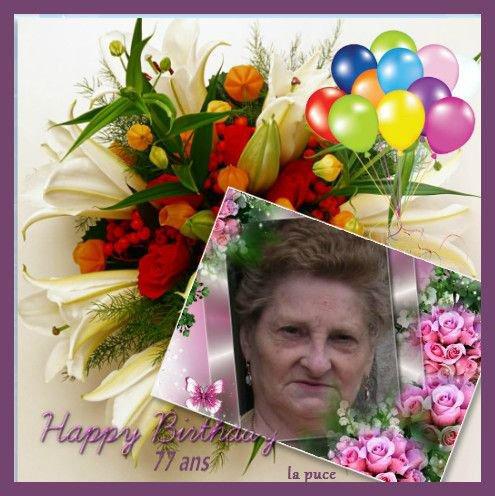 joyeux anniversaire a ma petite maman adoré 77 ans