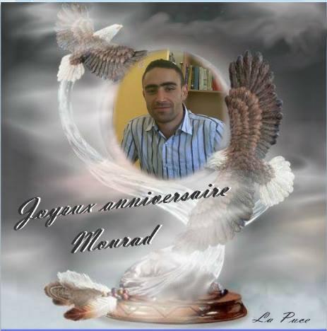 Joyeux anniversaire Mourad