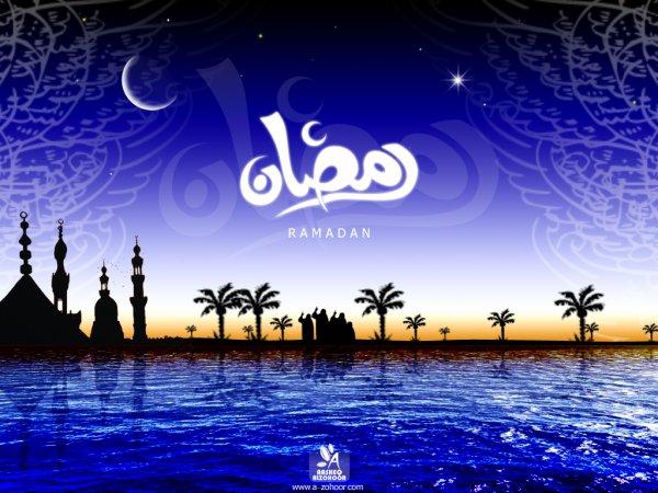 Salam aleykoum a tous les musulman Bon Ramadan