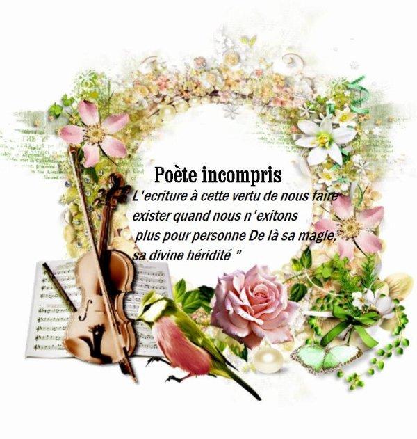 Poète incompris