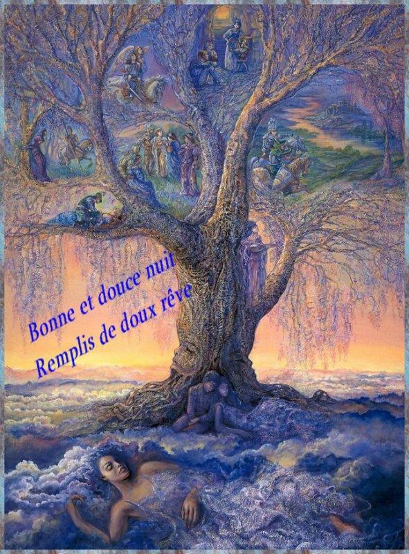 Bonsoir les amis(es) Je vous souhaite une bonne et douce nuit