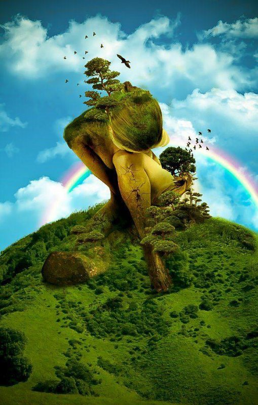 L'amour est le fondement du monde .....