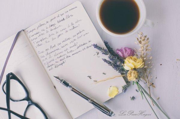A vouloir toujours bien  écrire...