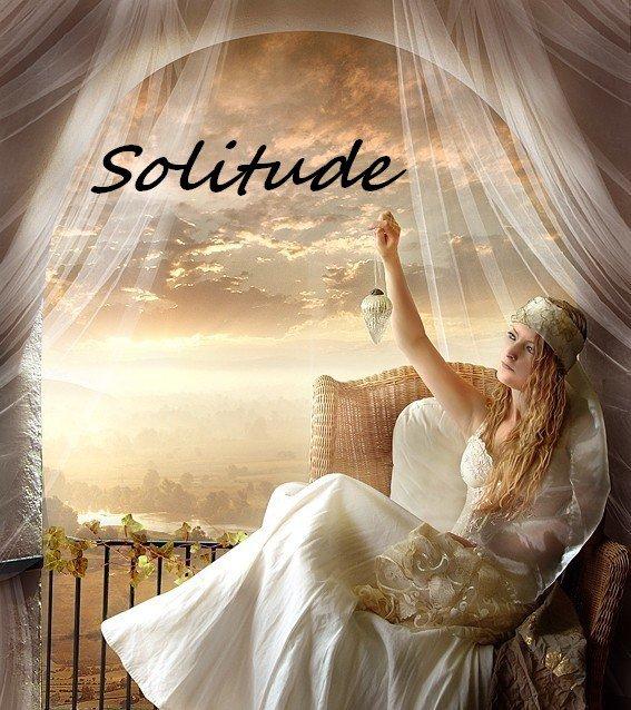 Mon refuge, mes mots, ma solitude
