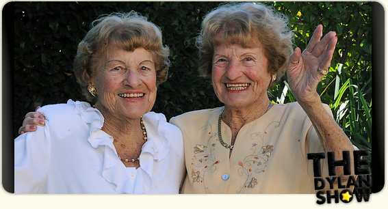 . ACTUALITÉ - Lucienne et Raymonde , les jumelles les plus âgées de la planéte  ! .