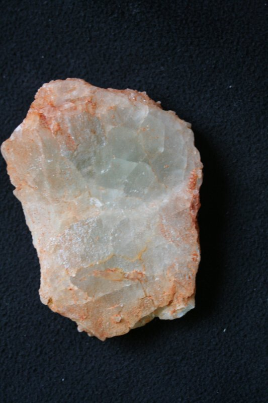 Quartz sur fluorine