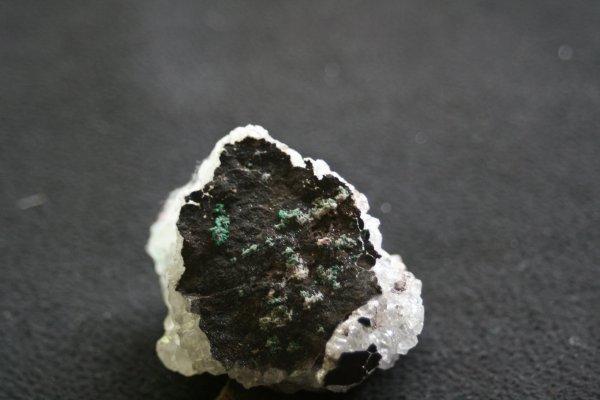Quartz du Katanga et malachite