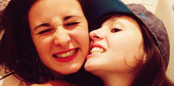 Ma plus belle amitié, mon plus bel amour, Lina, comme ma soeur. ♥