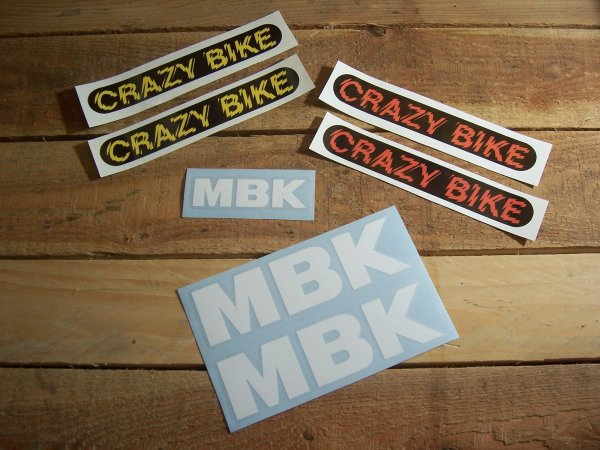 """Projet : MBK Crazy bike """"Polini concept"""" - Pièces (1)"""