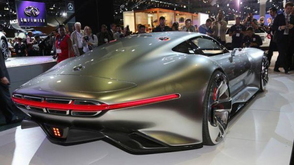 Vision Gran Turismo Concept Car. Look at that, we're in love.