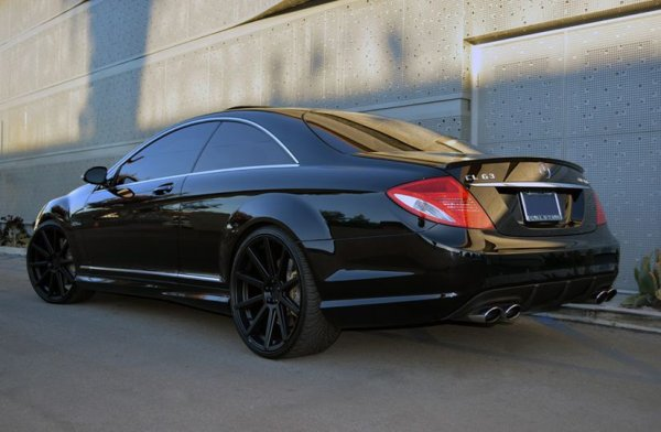 CL63 AMG sitting on some nice RoadForce RF10 wheels