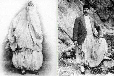 Les costumes traditionnels Algériens par Algérie,Oran