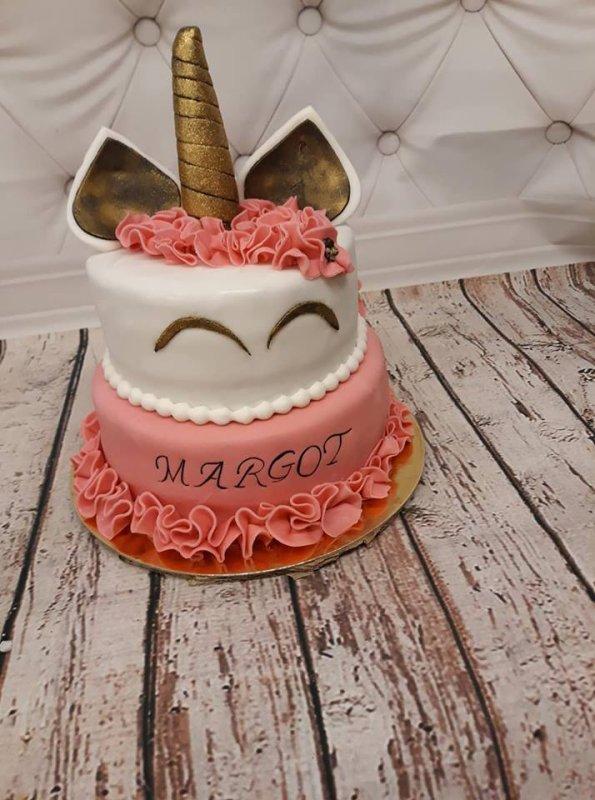 une jolie licorne pour Margot