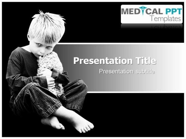 Autism Symptoms PPT Templates - Medical PPT Templates