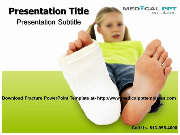 Fracture PowerPoint Template- Medical PPT Templates