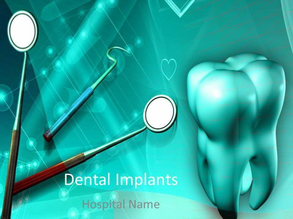 Prospering Dentistry PowerPoint Template