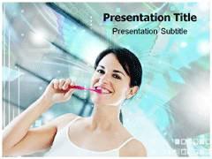 Clean Teeth PowerPoint Template