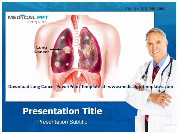 Lung Cancer PowerPoint Template