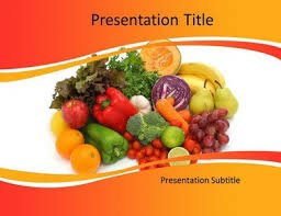 Diets and Nutritions Powerpoint Template