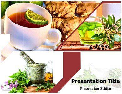 Herbal PowerPoint Template